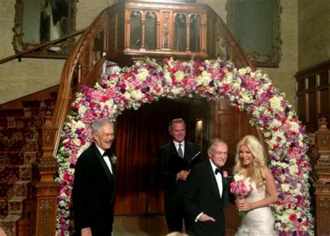 Hef And To Wed by Hugh Hefner Marries Harris Ny Daily News