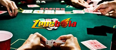 game poker   mengandalkan strategi zeusbola