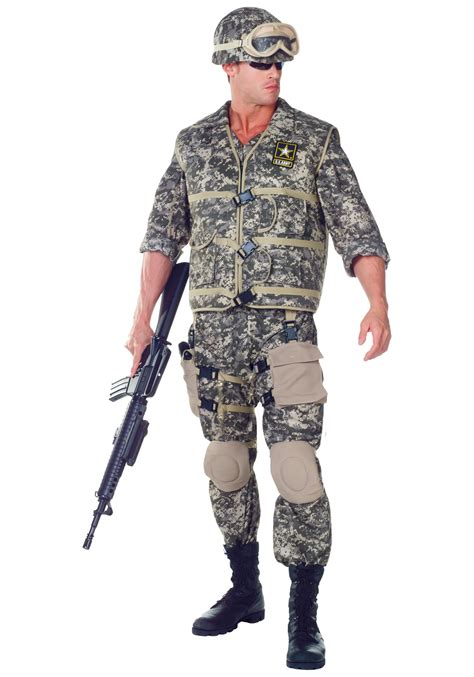 plus size deluxe u s army ranger costume