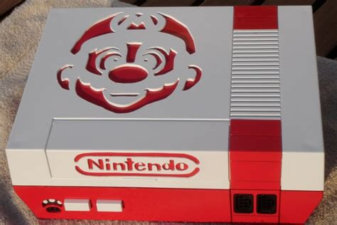 mario console creative ways to look at an nes pixlbit