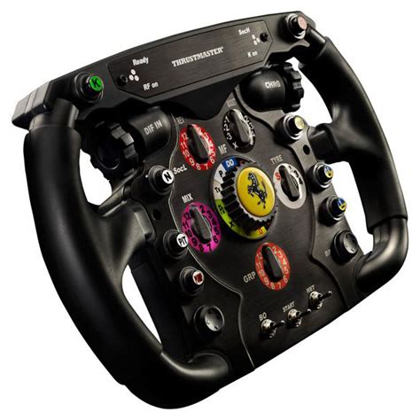 volante thrustmaster thrustmaster f1 wheel add on volant pc