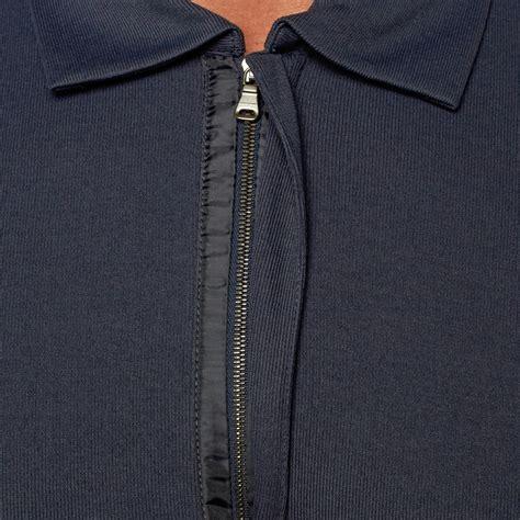 Hugo Zipper D hugo zipper polo navy s hugo touch of