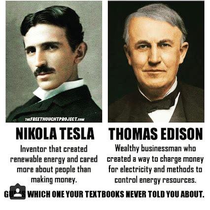 an interactive biography of thomas edison and nikola tesla nikola tesla vs thomas edison electricity memes google