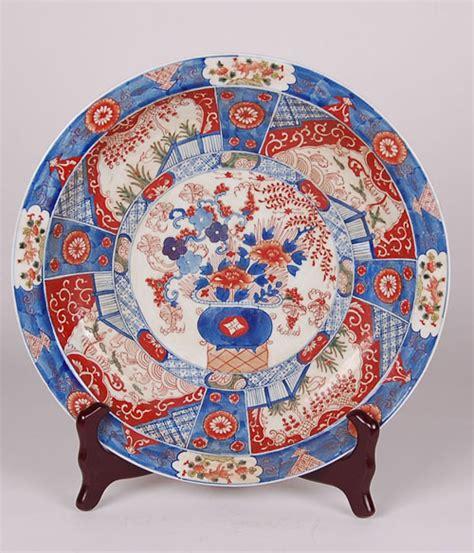 antique reproduction floor ls reproduction imari porcelain flower basket charger