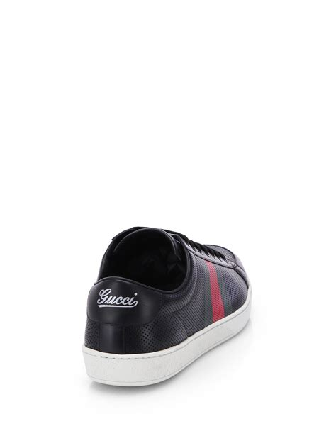 Gucci Facelift Chrome Import Shoes gucci coda monogram hi top trainers in black for lyst