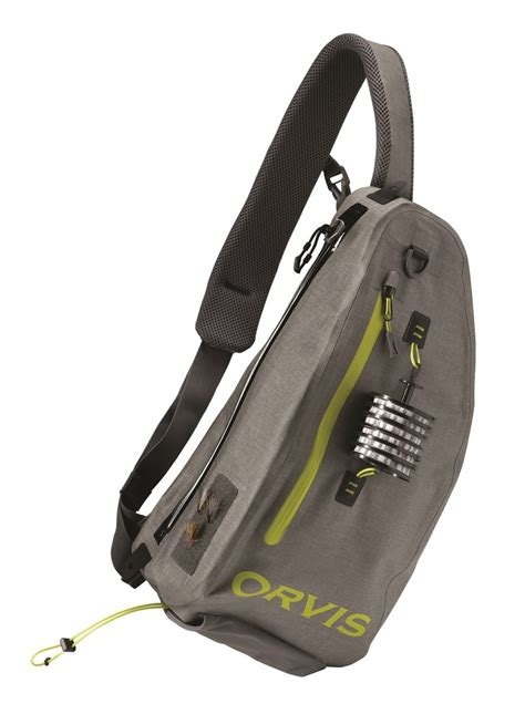 Going Loopy For This Bird Sling Bag From Loop by All New Orvis Waterproof Sling Pack Available By March