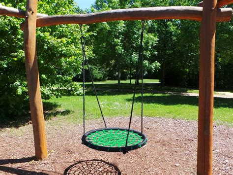 altalena giardino altalena per bambini rotonda a nido a fiano romano