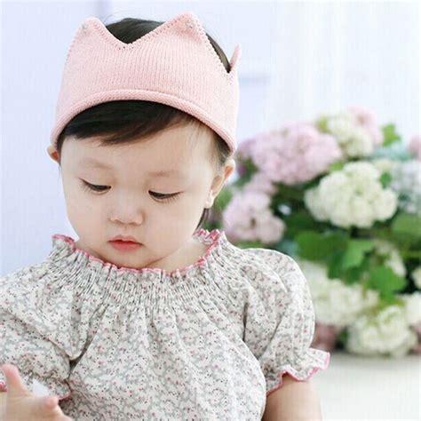 1 pc beautiful headwear crown shape crochet knitted headband hair band accessories