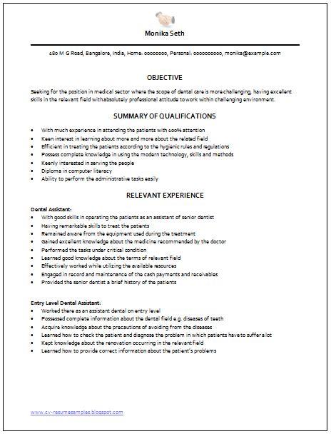 samples of medical assistant resume medical assistant resume