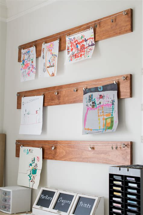 10 diy kids art displays to make them proud kidsomania diy kids art displays the idea room