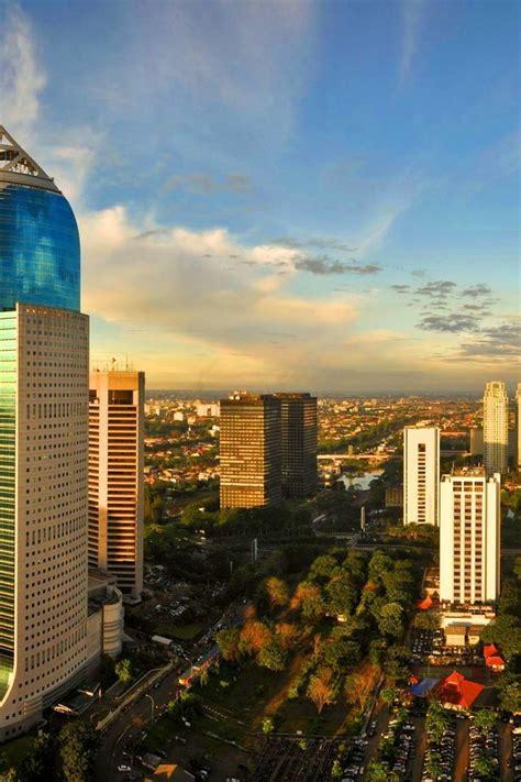 cityscapes indonesia cities skyline jakarta wallpaper
