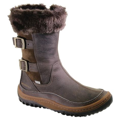 winter boot for s merrell 174 10 quot decora chant waterproof insulated