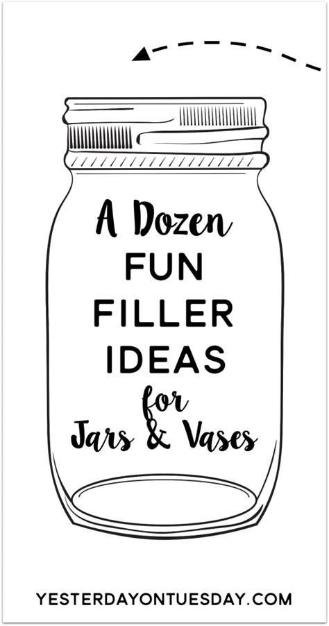 a dozen filler ideas yesterday on tuesday
