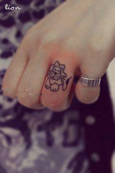 1000 ideas about lion finger tattoos on pinterest lion