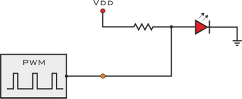 led pwm resistor led driving and controlling methods