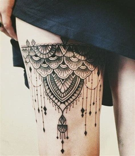 thigh tattoo ideas for females best thigh tattoos designs for collections