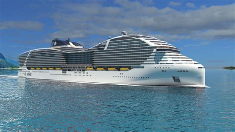 what is the cruise ship in the world msc confirms order for 4 world class cruise ships that