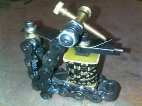 tattoo machine not working dirtysdesigns chaingang coil tattoo machine 1 youtube