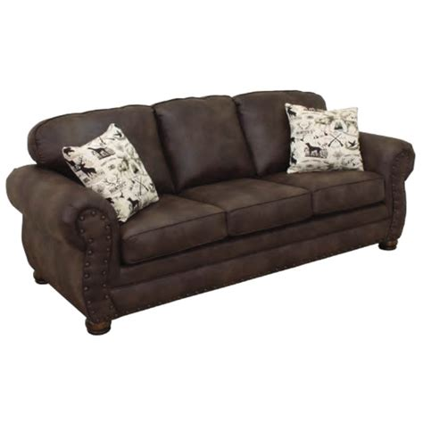 Lodge Sofa by 5101 Lodge Sofa By Bestcraft Furniture The Log Furniture