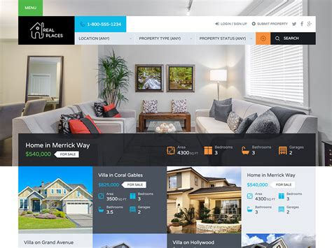decorating websites for homes 30 best real estate wordpress themes 2016 athemes