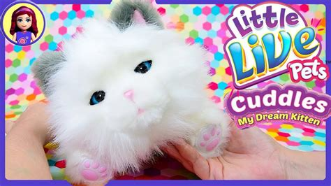 Live Pet by My Kitten Cuddles Live Pets Review New Pet