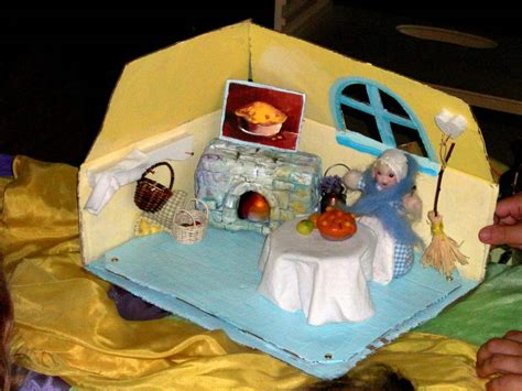 Handmade Puppet Theatre - the from apple cake story castle of costa mesa