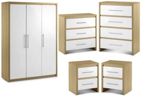 Stockholm Bedroom Furniture Julian Bowen Stockholm Bedroom Oak White Finish