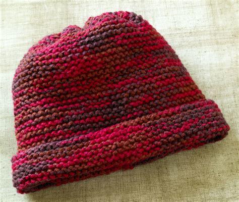 knitting a garter stitch s favorite garter stitch hat allfreeknitting