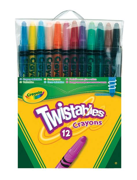 Crayon Apik 12 Colour crayola 12 twistable crayons artscape