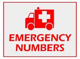 Emergency Contact Detox Facility by Emergency Numbers City 21 Karachi News Karachi News