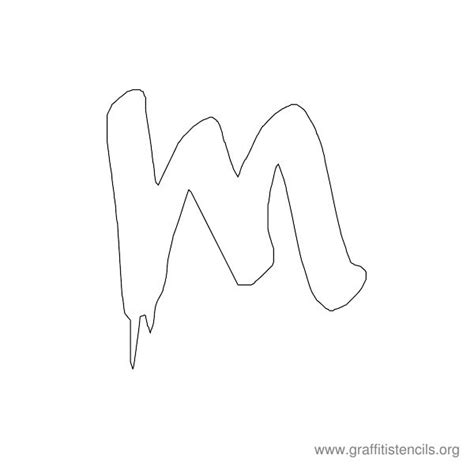 graffiti letter templates graffiti stencils printable alphabets and design templates