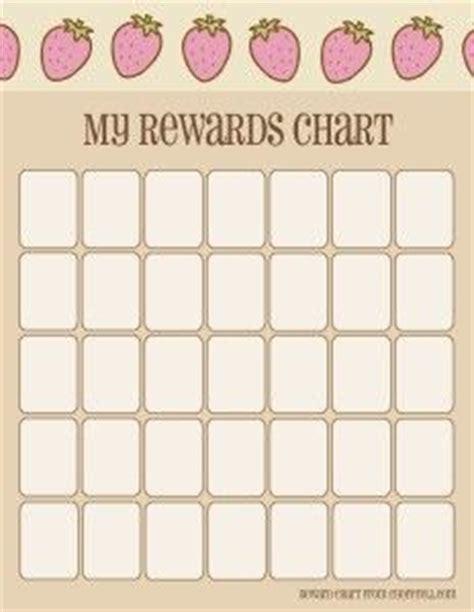 printable wall sticker paper strawberry my rewards chart paper crafts pinterest