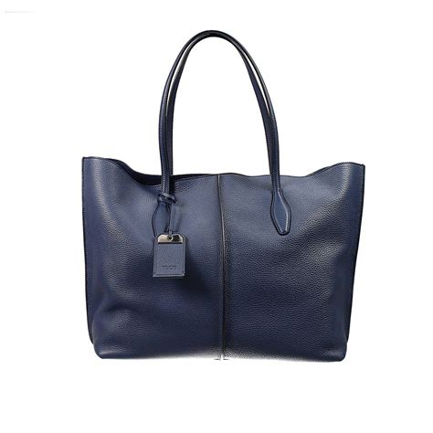 Toods New 01 Navy tod s handbag in blue navy lyst