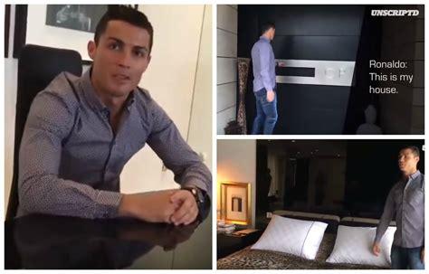 la casa di cristiano ronaldo cristiano ronaldo apre le porte della sua reggia da 5
