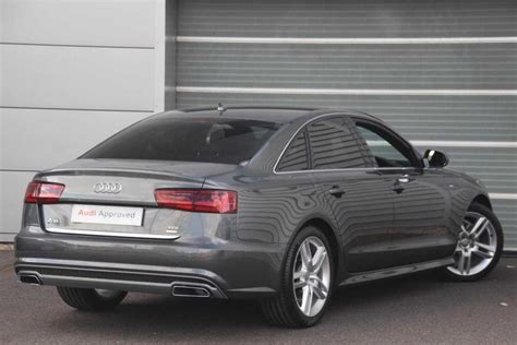 Audi Q6 Diesel by Used 2017 Audi A6 2 0 Tdi Ultra S Line 4dr S Tronic For