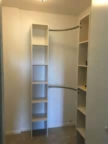 corner closet shelves design the homy design