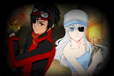 anime vire boy fire boy and water girl in anime by inuyashagamer on
