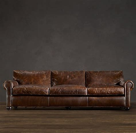 awesome couch awesome leather sofa restoration 4 restoration hardware