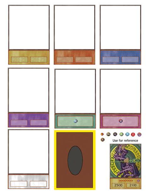 yugioh card template deviantart ygo card maker updated again by hoshikan on deviantart