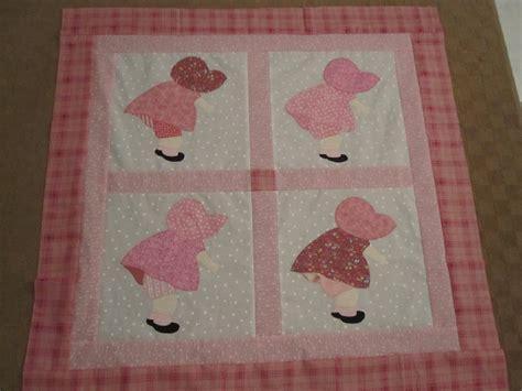 Sunbonnet Sue Quilt Patterns Free by Happy Cottage Quilter Sunbonnet Sue