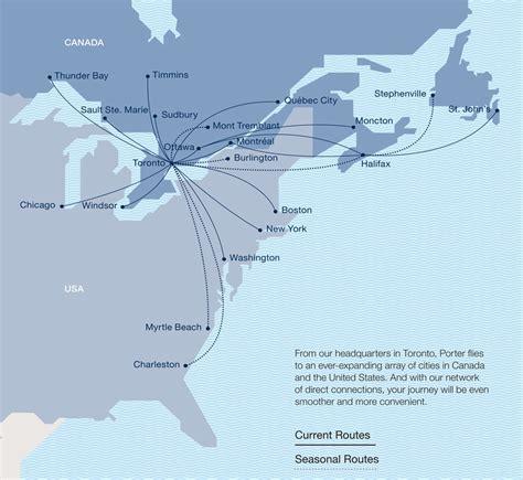 porter airlines travel destinations lifehackedstcom