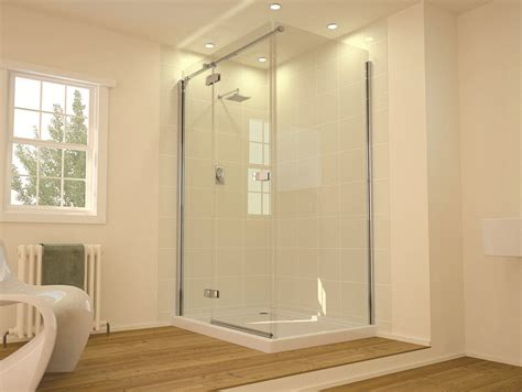 Hinged Shower Doors Hinged Shower Door Glass For Tubs Door Stair Design