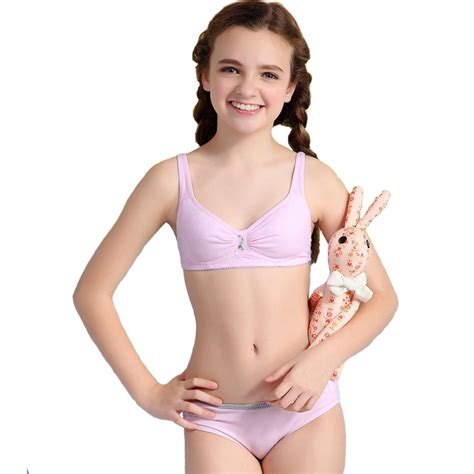training bra junior girls in panties kaqi young girl first bra thin cup cotton training bra