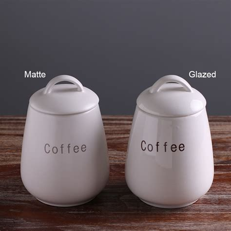 wholesale ceramic coffee tea sugar kitchen canister sets