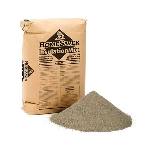 Fireplace Insulation Materials by Homesaver Insulation Mix Approx 45 Lb Bag