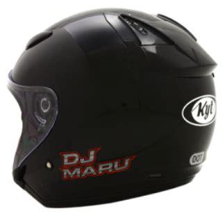 Kyt Dj Maru Solid By Aneka Helmet daftar harga terbaru helm kyt half safety