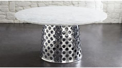 crate and barrel marble dining table top 25 best marble top dining table ideas on