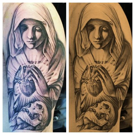 virgin mary tattoo tattoos designs ideas and meaning tattoos
