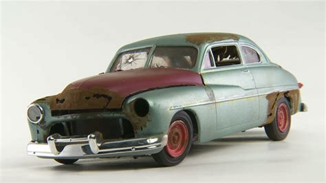 Handmade Model Cars - classic wrecks the rusted car as etsy journal