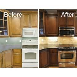 Change Color Of Kitchen Cabinets by N Hance Wood Renewal Cabinet Color Change In Darien Ct